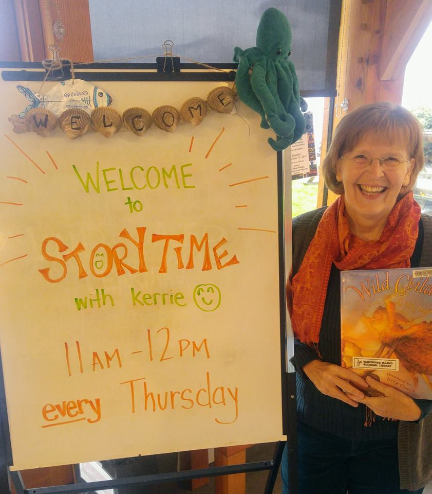 """Story Time"" with Kerrie – stories, games & songs for young children – 11am every Thursday in November"